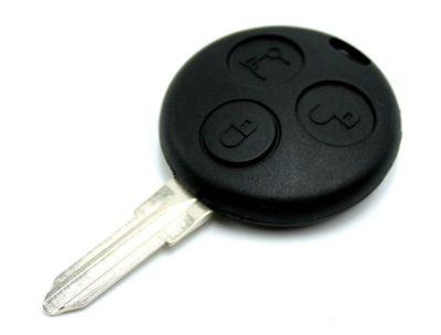 klíč smart mercedes benz fortwo Micro compact forfour autoklíč tlačítka dálkovéovládání