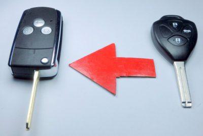 klíč vystřelovací toyota lexus corolla camry tlačítka yaris hilux rav4