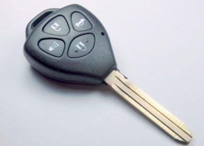 klíč toyota lexus corolla camry tlačítka yaris hilux rav4