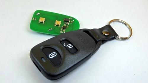 klíč  Hyundai-dálkové ovládání
