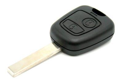 klíč peugeot citroen106 206 406 306 307 407 partner berlingo picasso 5008 c2 c3 c1 hu83 va2 autoklíč dálkové ovládání planžeta tlačítka