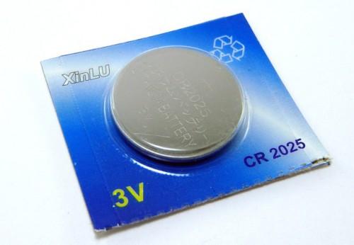 Baterie CR2025 pro autoklíče 3v