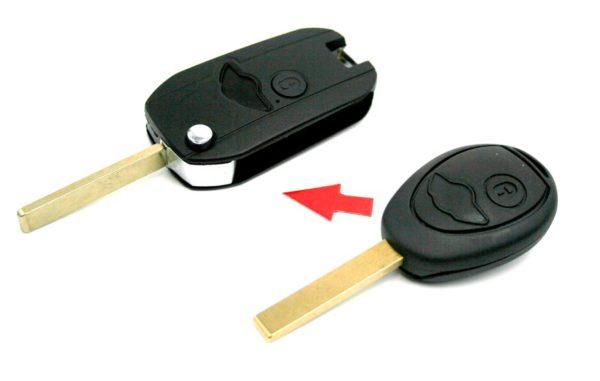 klíč mini bmw dálkové ovládaní autoklíč tlačítka obal