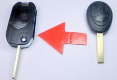 klíč mini bmw dalkové ovládání obal