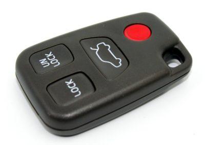 klíč volvo c70 s40 s60 s70 s80 v40 v50 v70 xc70 xc90 sx12 fh12 autoklíč dálkové ovládání planžeta tlačítka