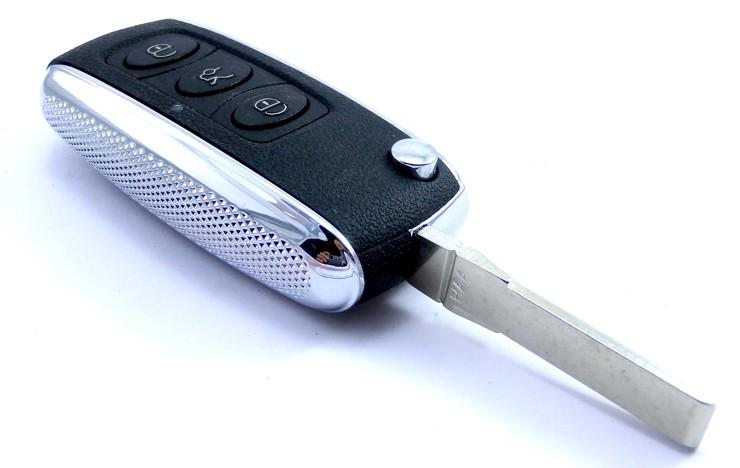 klíč bentley dalkove ovládání tlačítka