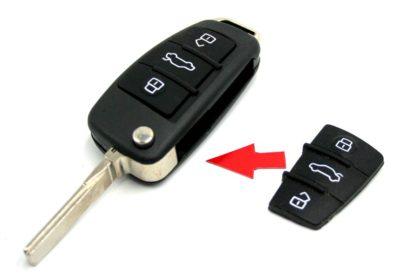 klíč škoda VW SEAT AUDI dálkové ovládaní autoklíč beetle bora caddy passat touran transporter caravelle multivan octavia fabia rapid yetty fabia felicia
