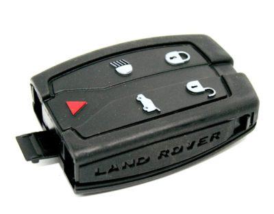 klíč dálkové ovládaní autoklíč land rover freelander defender discovery range rover lr4 lr2 lr3 sport evoque tlačítka obal