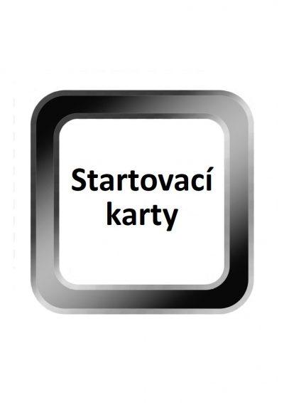 Startovací karty