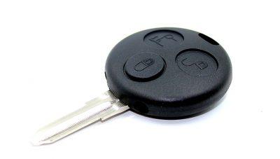 klíč smart mercedes benz fortwo Micro compact forfour autoklíč tlačítka dálkové ovládání